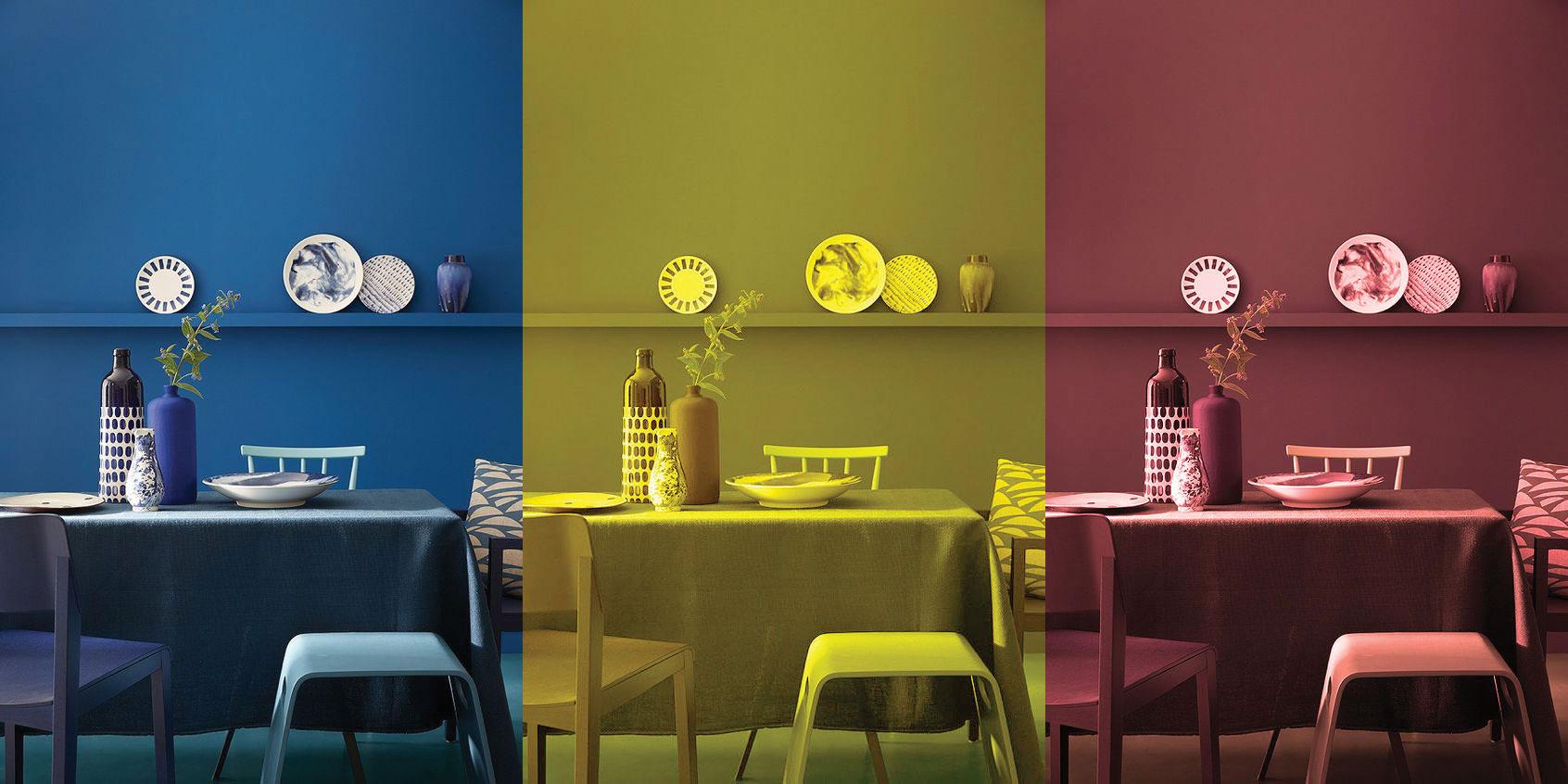سه رنگ اصلی در دکوراسیون داخلی